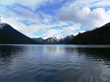 Lost Lake, in Whistler, British Columbia, Canada.