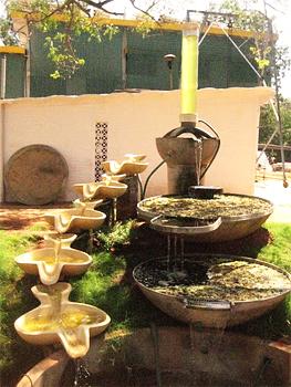 Auroville designed water filter