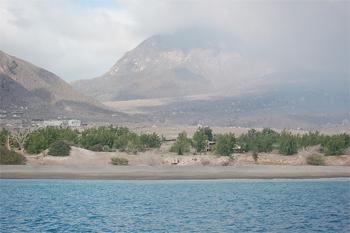 Soufriere Volcano, Montserrat.
