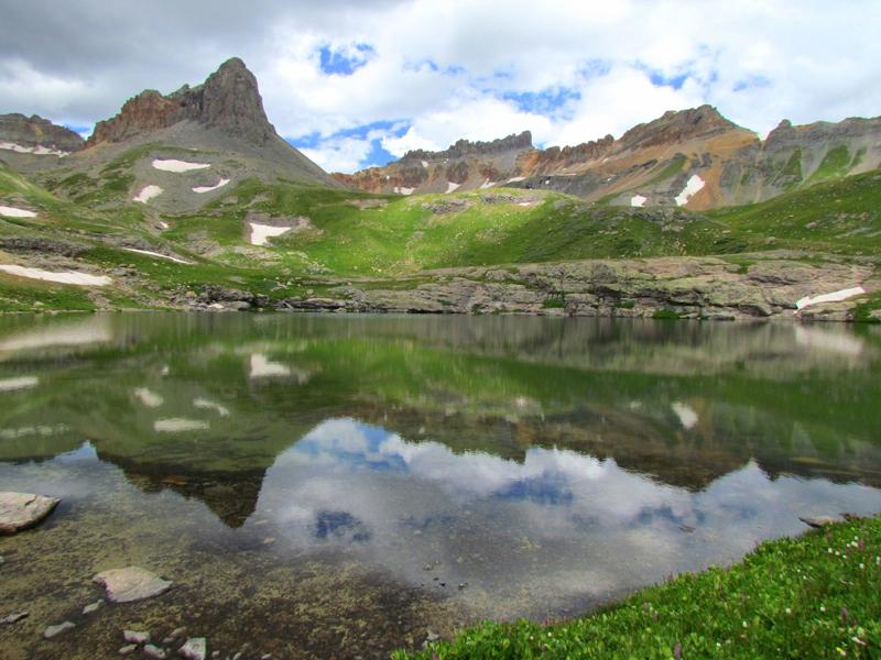 Ice Basin in Colorado.