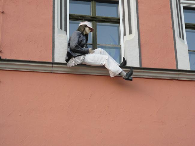 Mannequin in Weimar