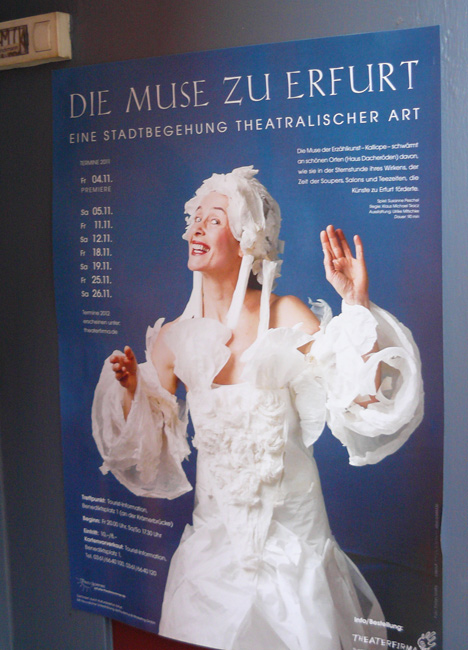 Poster in Erfurt