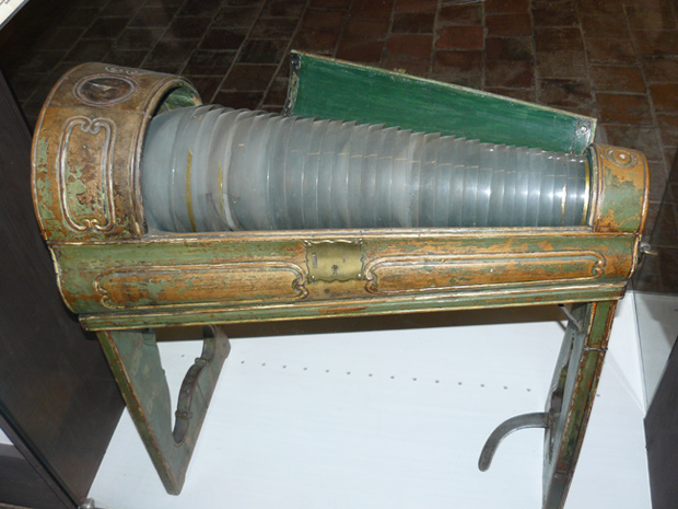 The Glass Armonica, The Bach Museum, Eisenach, Germany
