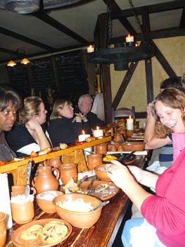 The Luther Feast at the Lutherstuben restaurant at the hotel Eisenacher Hof in Eisenach