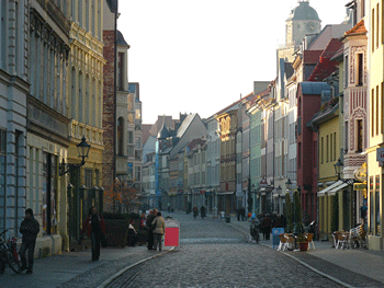 The main street of Wittenburg is known as the Cultural Mile, with many important historical attractions.