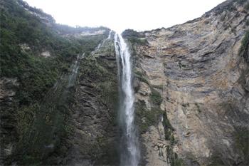 Gocta Falls, Peru.