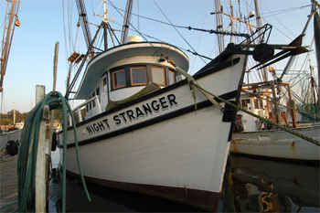 Night Stranger, a fishing boat in Apalacheola