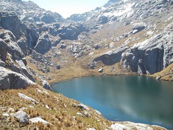The Cordillera Blanca holds dozens of placid lagoons.