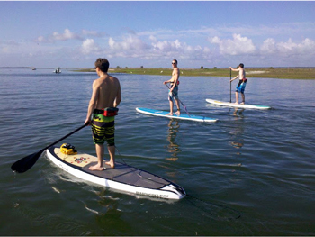 Paddleboarding North Inlet