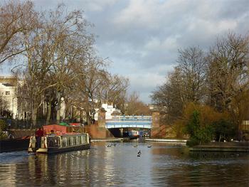 Brownings Pool, Little Venice, London.