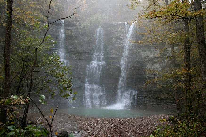 Ozark mountains in arkansas home of waterfalls gonomad travel triple falls in the arkansas ozarks fandeluxe Gallery