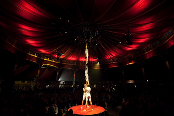 Absinthe is a new acrobatic show in Las Vegas.