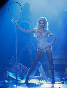Holly Madison stars in Peepshow in Las Vegas.