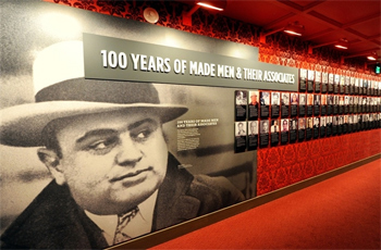 Mob Museum in Las Vegas, opened on February 21, 2012.