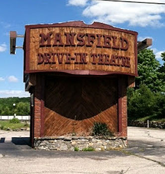 The Mansfield Drive-In Theater in Mansfield, CT is a fun way to watch a movie, or shop on Sundays at the Marketplace.