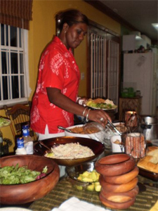 A feast in the Bahamas from a local family, what a treat!