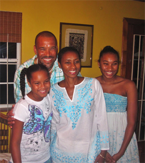 Host family in Nassau Bahamas for a People to People meet up. photos by Will McGough.