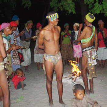 Join in on the trance dances of the Bushmen. (photo credit: Expert Africa)