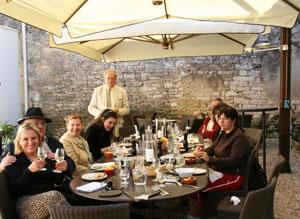 Lunch at La Maison d'Olivier Leflaive