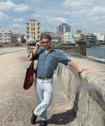 The author on the Malecon
