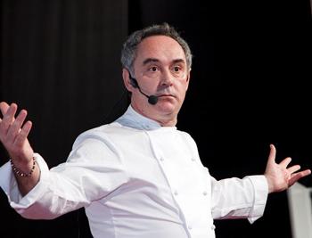 Ferran Adria, famed for 'molecular gastronomy.'