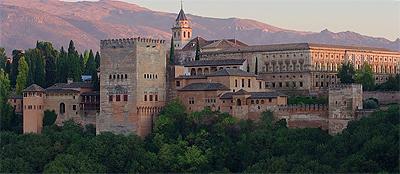 The Alhambra, Granada's most famous landmark