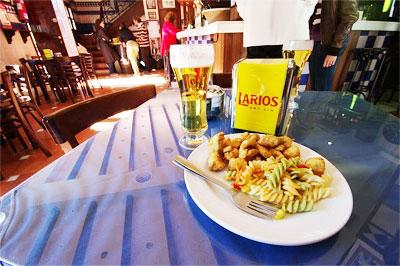 Pescaito Frito (fried fish) photos by Robin Graham.