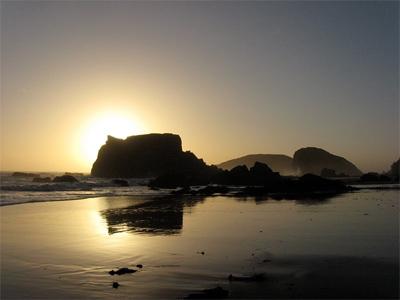 Pacific City Beach, Oregon.