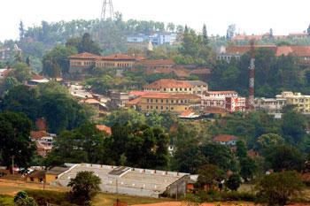 Madikeri Town