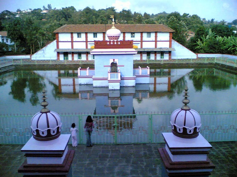 The Omkareshwara Temple in Madekeri, India