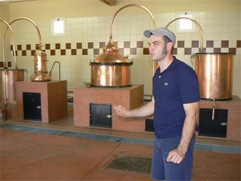 Inside the Clovis Reymond distillery, where they've been making liqueurs since 1834.