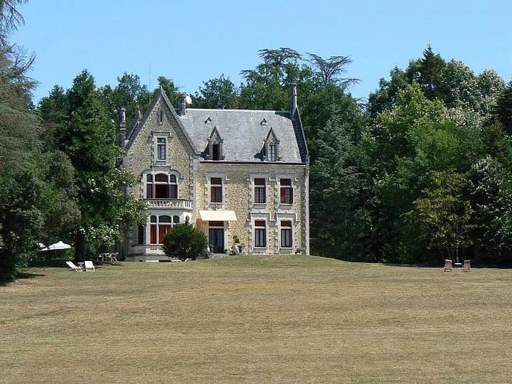 Chateau La Thuiliere, in the Dordogne region of France.