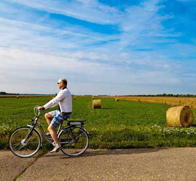 Biking in Burgenland on the road to freedom in Andau. Photos by Paul Shoul.