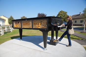 Franz Liszt park in Raiding