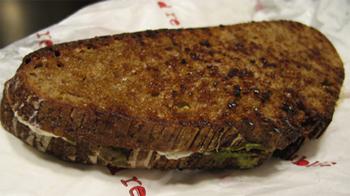 A Panini sandwich at Bread Republic in Lebanon.