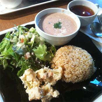Pure Cafe Omotesando.