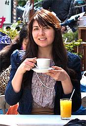 Marina Solovyov in Tokyo.
