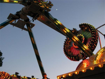 Ride at the Berg festival in Germany.