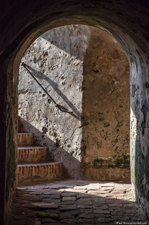 Inside the 18th century fort that once defended the city of Cartagena de Indias. Paul Shoul photo.