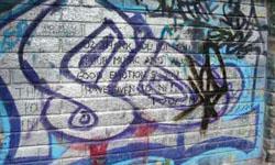 U2 wall, Dublin.