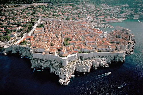 Dubrovnik, Croatia on teh Adriatic Coast