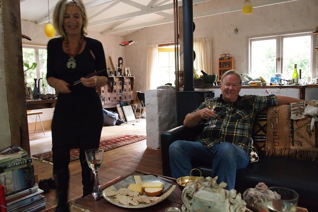 Robyn and Nigel, who both live in Coromandel and love its artsy, remote appeal.