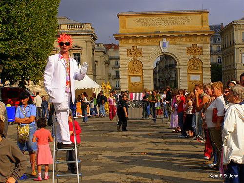 Arts festival in Montpelier.
