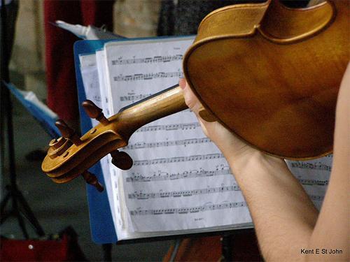 Classical music in Paris.