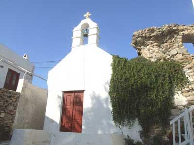 A church in Mykonos