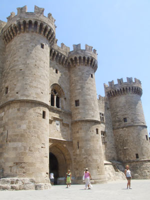 The Knights' Castle in Rhodes