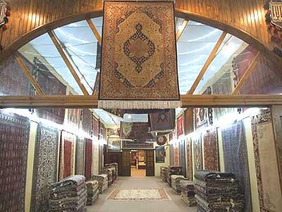 Turkish rug factory