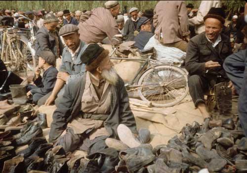 Uighur Shoe Seller