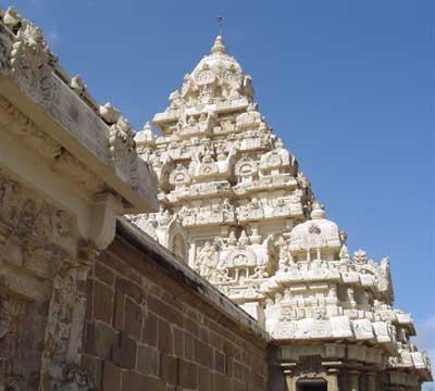 Vishnu Temple at Mamallapuram, southern India