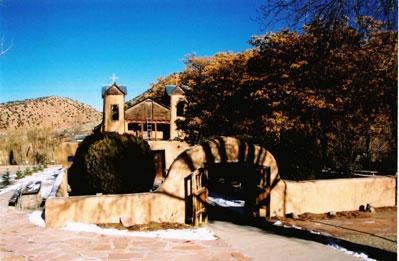 The Santuario del Chimayo church in Taos, NM. (Kent E. St. John photo)